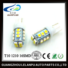 T10 1210 16SMD LED car light reading light high power led daytime running lamps