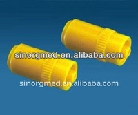 new product ! yellow color Surgical Heparin Cap heparin sodium injection for Medical Supplies