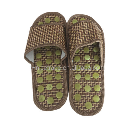 TNS therapy jade massage slipper shoes acupoints health-care magnetic therapy acupuncture
