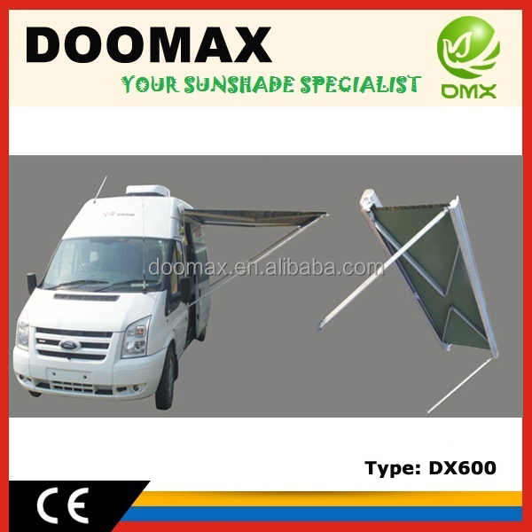 #DX600 Retractable Motorhome Awning
