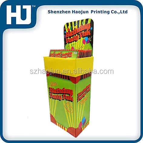 Magazine / DVD / CD large recycling corrugated cardboard dump bins for retail