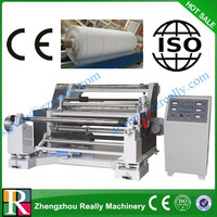 High quality bobbin cutting and rewinding machine