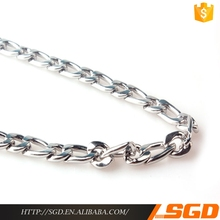Highest Quality Original Design Newest SQUARE CHAIN CROSS LINKS NECKLACE