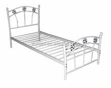 2015 hot sell !wholesale single metal/Iron bed ,wrought iron single bed in bedroom