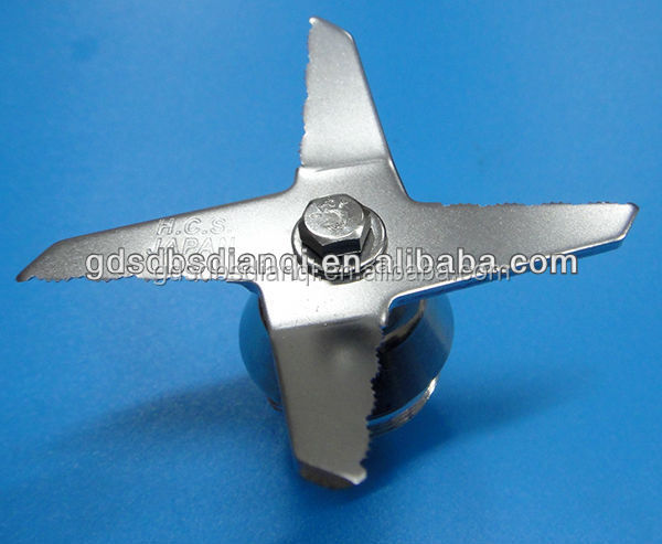 VIT-<strong>001</strong> Wet and dry blade replacement with sawtooth, serration blender blade, spare parts for Commercial blenders