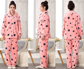 wholesale cheap price flannel pajama sets women