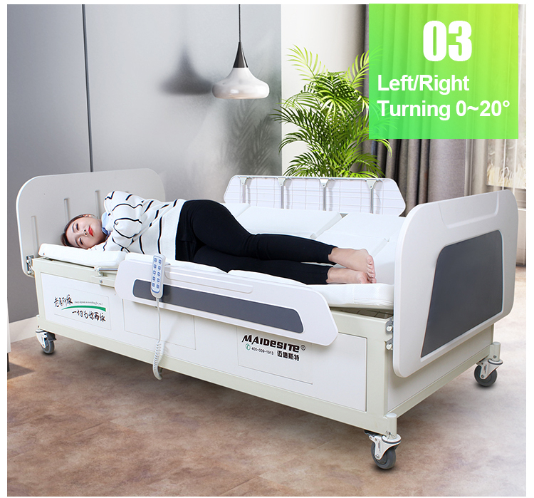 Maidesite Multifunctional ICU hospital Medical Bed with patient lift (6).jpg