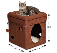 100% Wool Felt Dog Carrier/Cat cage/animal house