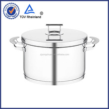 copper bottom stainless steel fry pan with 304 s/s and aluminum 18/0 induction bottom
