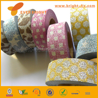 single sided waterproof antistatic custom printed diy decoration japanese washi paper tape