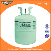 Auto air conditioner r134a gas cylinder price