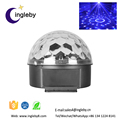 2017 popular stage light used in wedding holiday party led magic crystal ball light with remoters