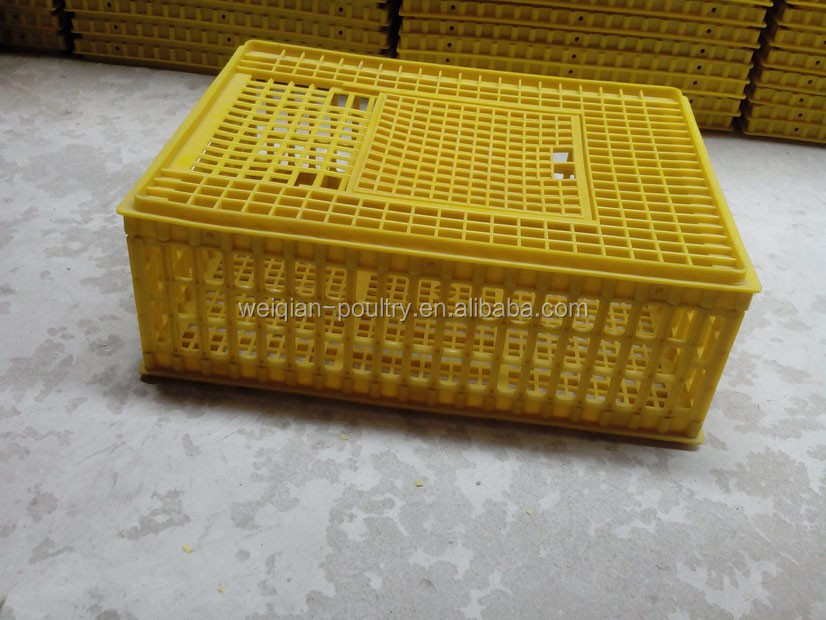 Plastic animal transport cage for chicken,duck,pigeon