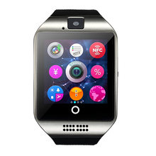 Possometer Smart Watch Q18 Support Sim TF Card NFC Connection Camera Android IOS Relojes Whatsapp Facebook Smartwatch