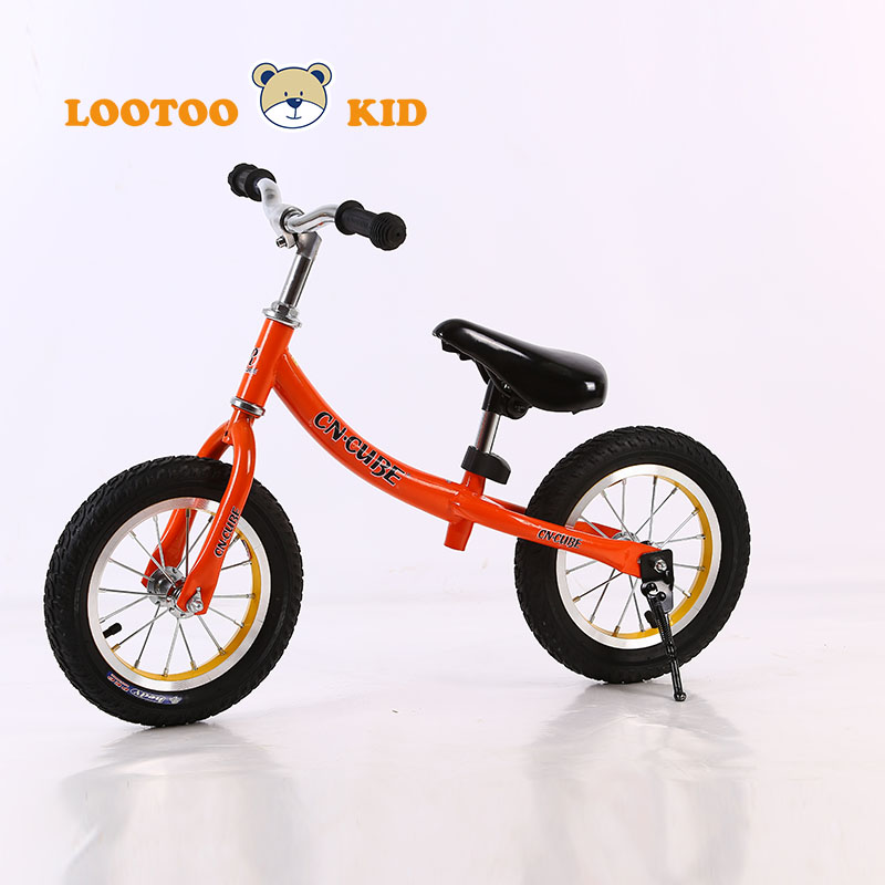 Alibaba trade assurance cheap price 12'' children balance bike with air tires