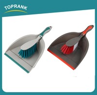 Toprank New Design Professional Cleaning Broom Dustpan Set Small Mini Handle Plastic Broom And Dustpan Set