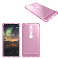 New Mobile Phone Accessories Anti Knock Soft Gel TPU Case For Nokia 6 2018 Back Cover
