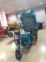 2017 Cheaper Strong power 60V 1000W electric tricycle cargo