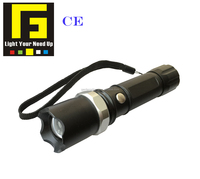 Q5 or XPE2 Aluminum led Flashlight with 18650 Battery