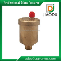 trade assurance female and Female screw type threaded automatic radiator auto air vent valve