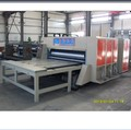 corrugated flexo printing rotary die cutting machine