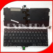 Genuine Replacement Keyboard For Macbook Pro Unibody A1278 13'' Norwegian Keyboard & Backlight
