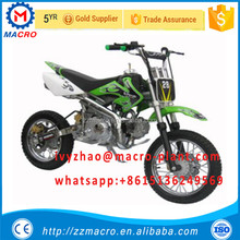 safe and good quality Chinese motorcycle gas powered dirt bike for kids