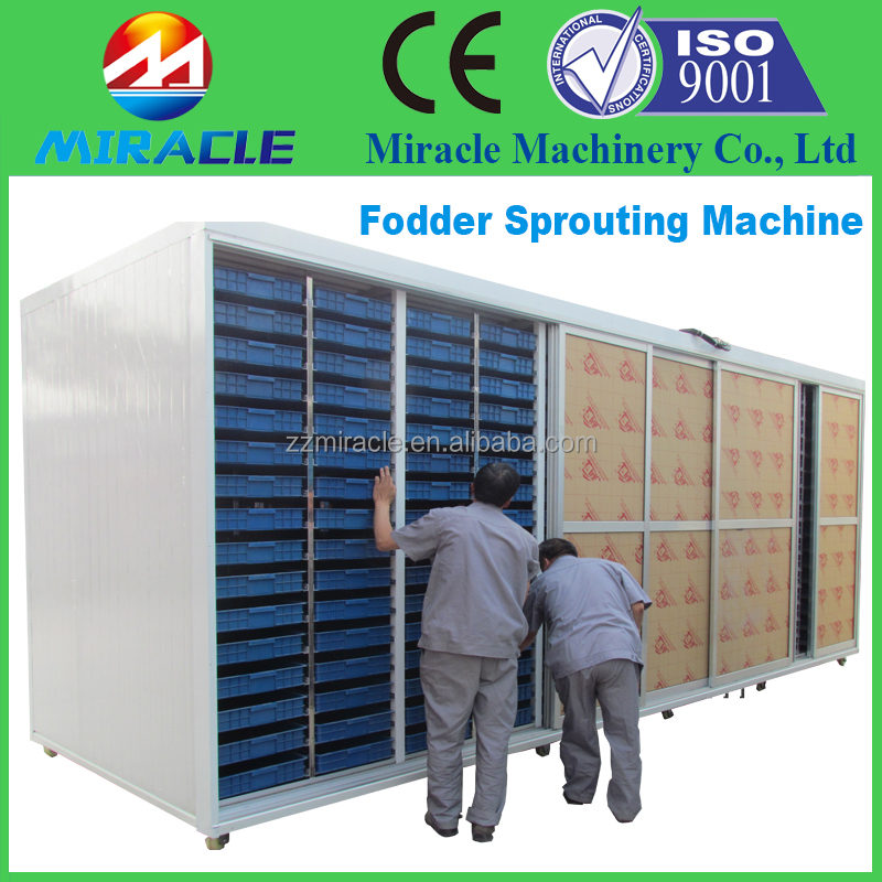 Hydroponic fodder sprouting house /machine for sprouter/seed sprouting machine