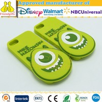 Hot Selling Silicone Animal Mobile Phone Case Silicone Custom Design Cell Phone Cover for iphone