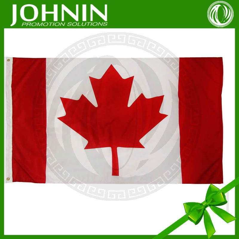 Hot sell red maple leaf Canadian nation flag