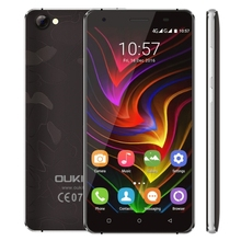 2017 Wholesale 4G Unlocked Smartphone OUKITEL C5 Pro, 5.0 inch Android 6.0 MTK6737 Quad Core Latest 5G Mobile Phone