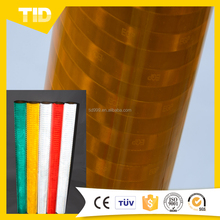 Retro Metalized Reflective Tape Sheeting Comply with Fmvss 108 for Trailer