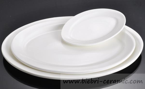 Wholesale Plain White Round Square Rectangular Oval