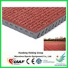 13mm thickness 400m standard athletic track field used prefabricated rubber running track