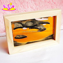 Fashion Moving sand art pictures,Cheap mini Flowing sand art pictures,High quality frame soothing sand W02A040