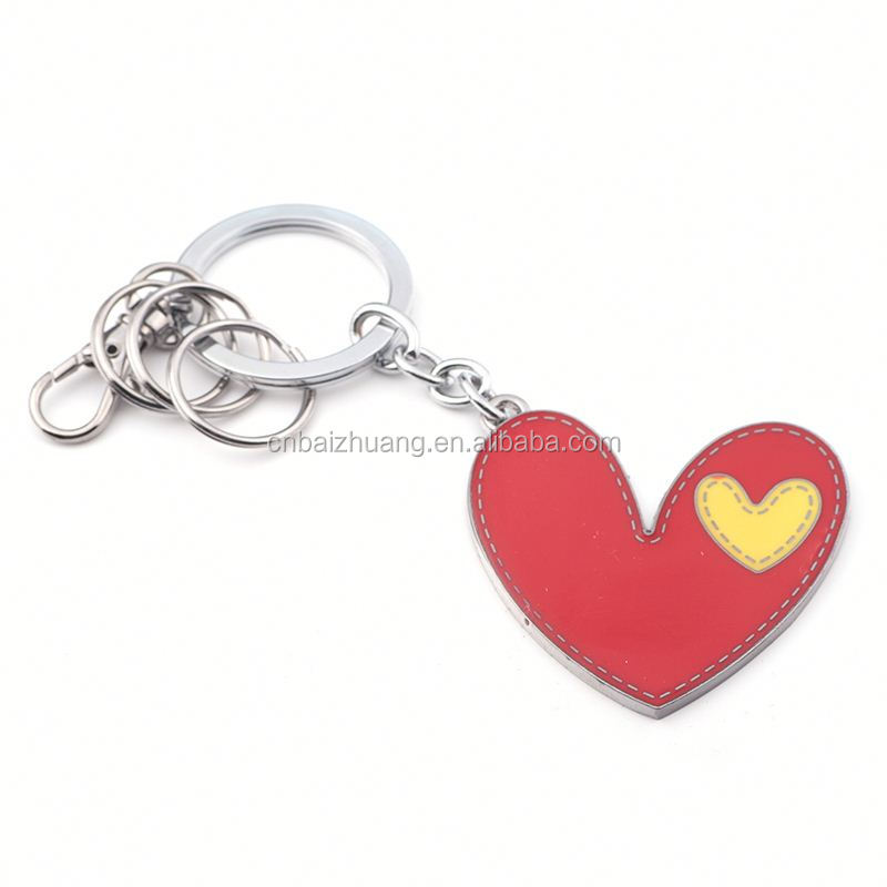 new arrival keychain high quality keyring printing tennis ball keychain