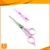new design high quality colorful safety salon hair scissor