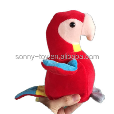 Recordable Talking Parrot Stuffed Animals