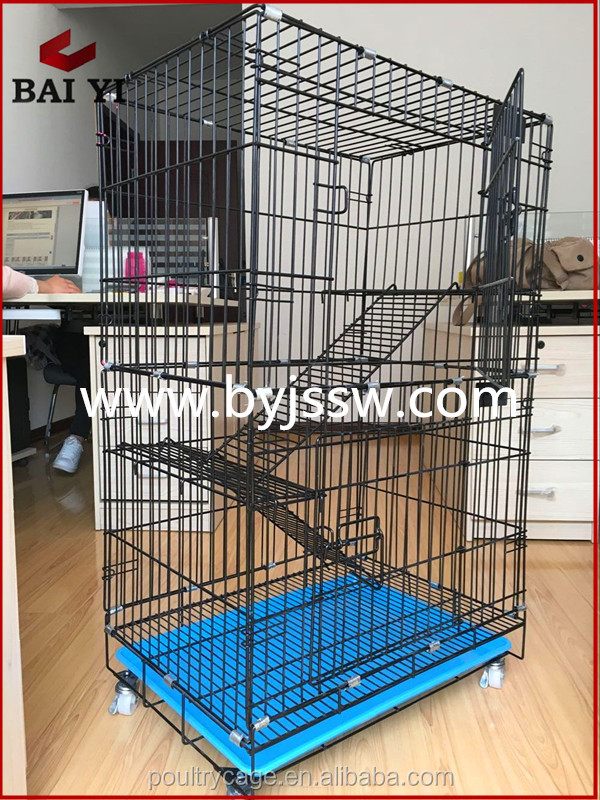 Wholesale Folding PVC Pet Cat Cage With Low Price