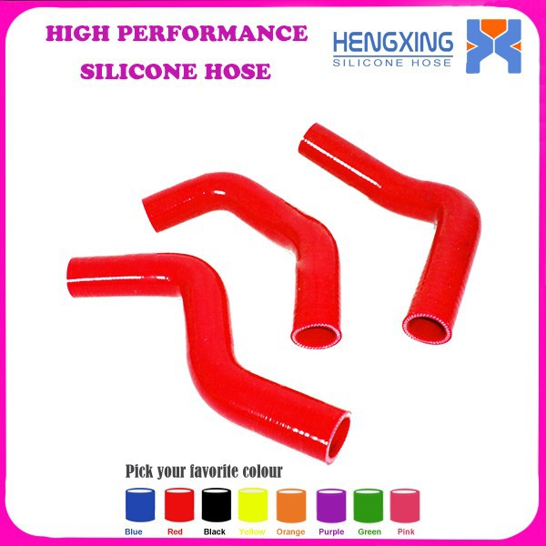 High Quality Silicone Radiator Hose Kit For Suzuki SWIFT 1.3L G13 GTI 89-00 Silicone hose Kit