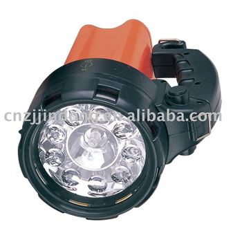 led 3 in 1 4ah rechargeable spotlight ce