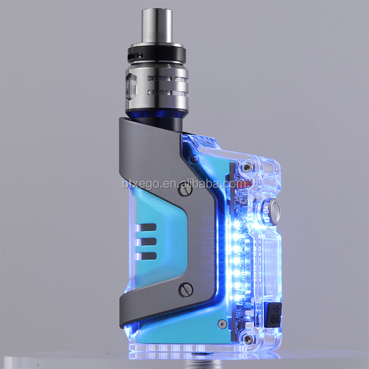 2018 Hottest E cig Box Mod digital display box mods 80w vape box mod Electronic cigarette