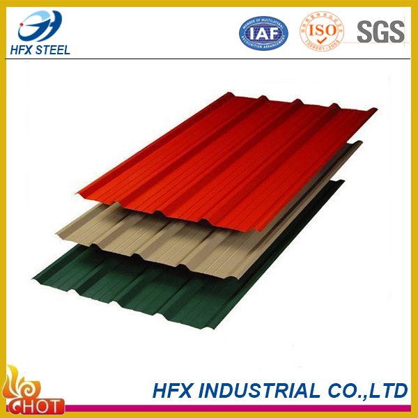 export to Kosovo 2016 prime quality insulation corrugated metal roofing sheets