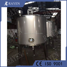 SUS316L stainless steel melting mixing tank steam heated tank
