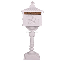 outdoor cast aluminum free standing mailboxes for sale