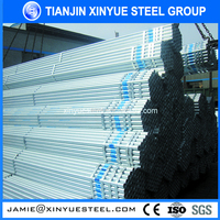 alibaba online shopping thin wall galvanized steel 6 inch pipe made in china