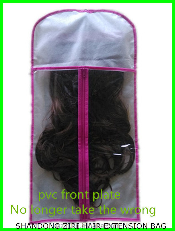 zr hair extenstions fabric bag