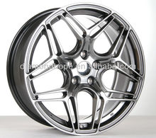 Black Replica alloy wheel for car (ZW-X106)