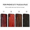 2018 Aluminum bumper with kelvar real wood back board cases For iPhone x