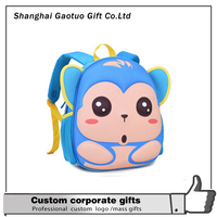 >>>Wholesale kids zoo animal backpack lovely toys bags//